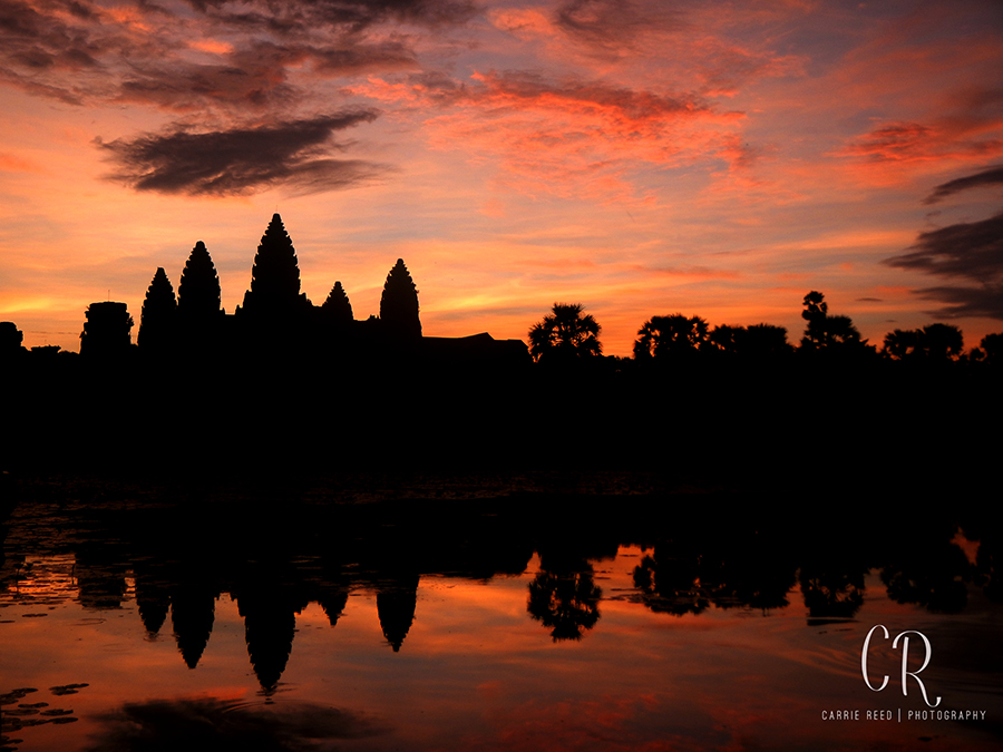 Siem Reap Sunrise over Angkor Wat WM